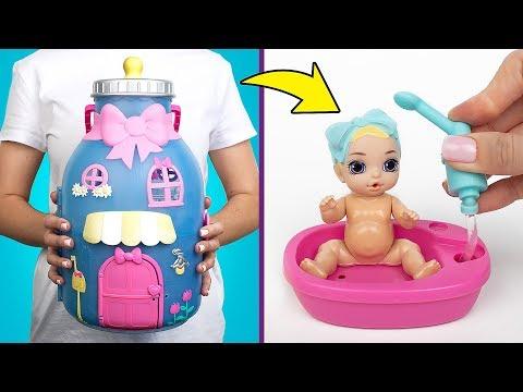 生寶寶驚喜開箱:奶瓶屋玩具組!
