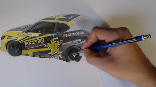 Drawing Formula DRIFT - Fredric Aasbo - #151 (Prismacolors and Graphite}
