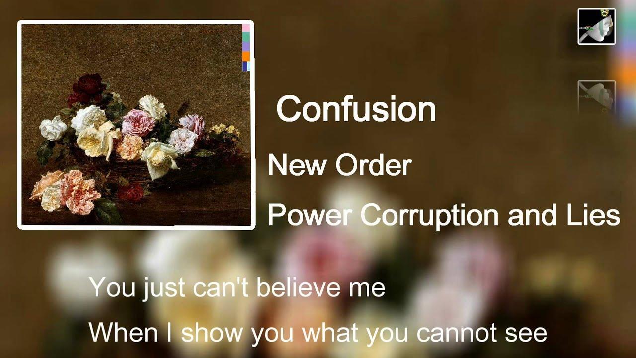 New Order - Confusion [pump Panel Reconstrucion Mix ...