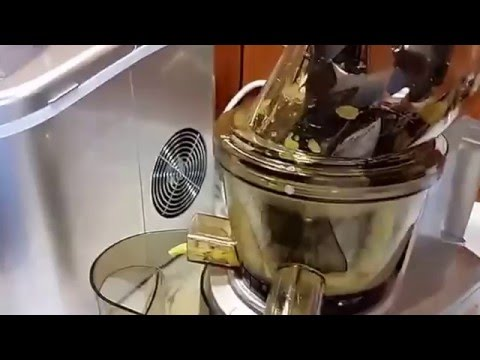 NutriChef PKSJ40 Countertop Masticating Slow Juicer Juice and Drink Maker Review - YouTube