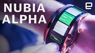 Nubia Alpha Hands-on at MWC 2019: A wearable, flexible smartphone
