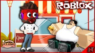 ROBLOX Indonesia #183 Cooking Simulator | Beggar so fat in this new city [CODE]