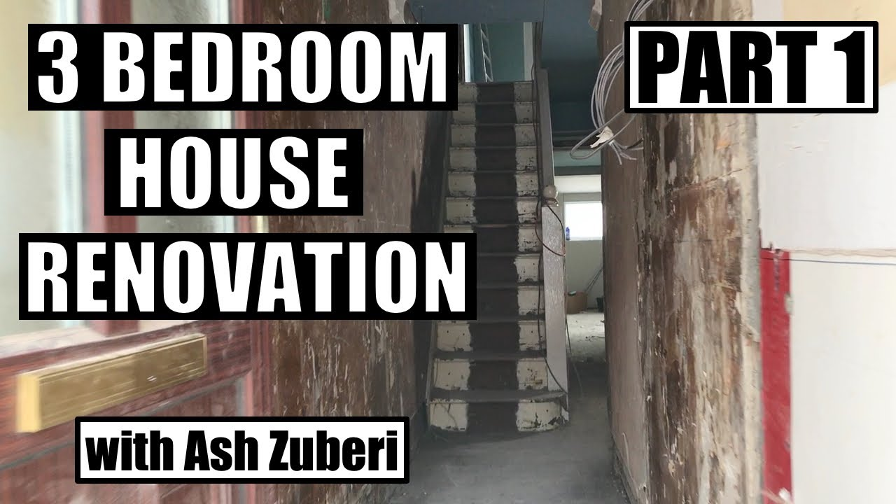 Renovation Conversion Of A 3 Bedroom House To An Hmo Part 2 Property Investing Youtube