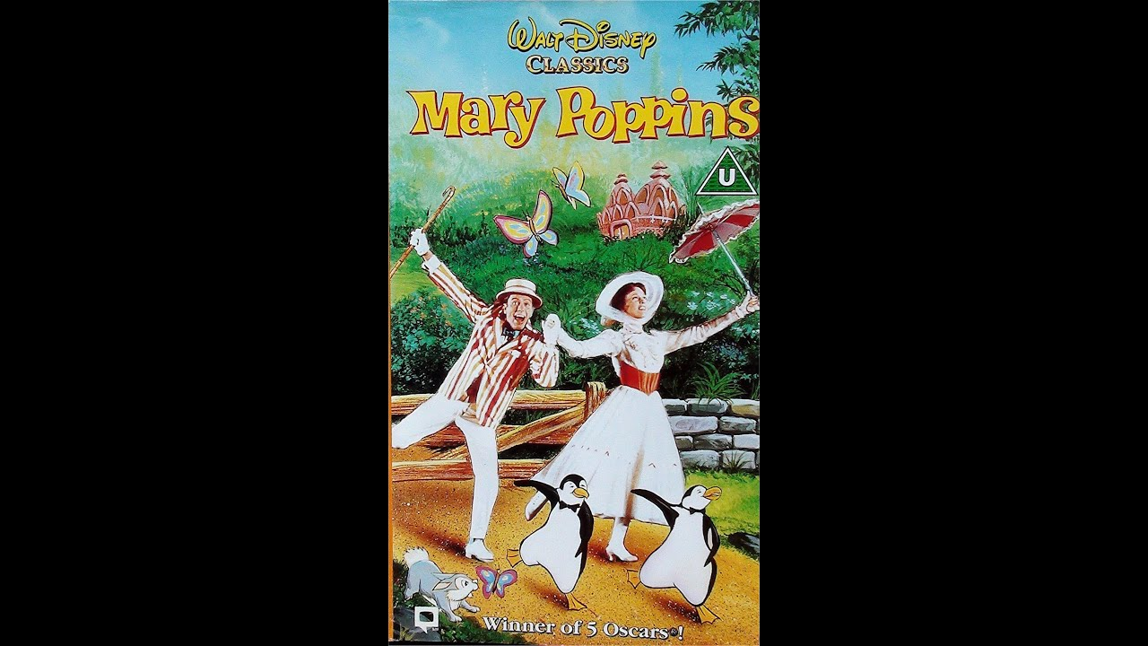 digitized opening to mary poppins uk vhs youtube