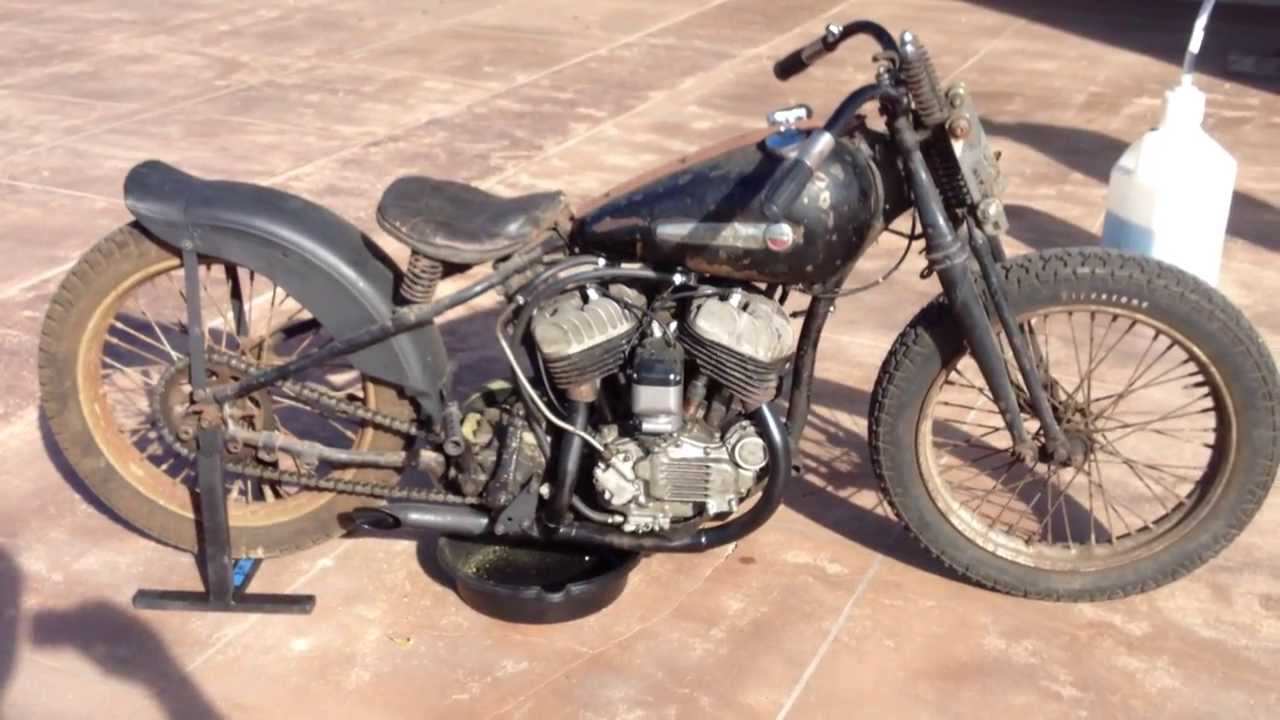 1948 Harley Davidson Wr Barn Find Runner Youtube