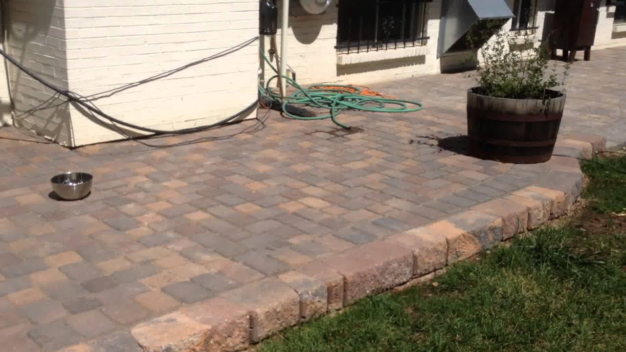 Pavestone Patio Project