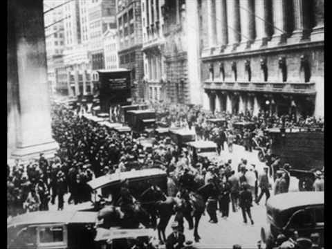 Wall Street Crash History Lesson