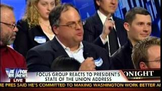 Focus Group Reacts To President