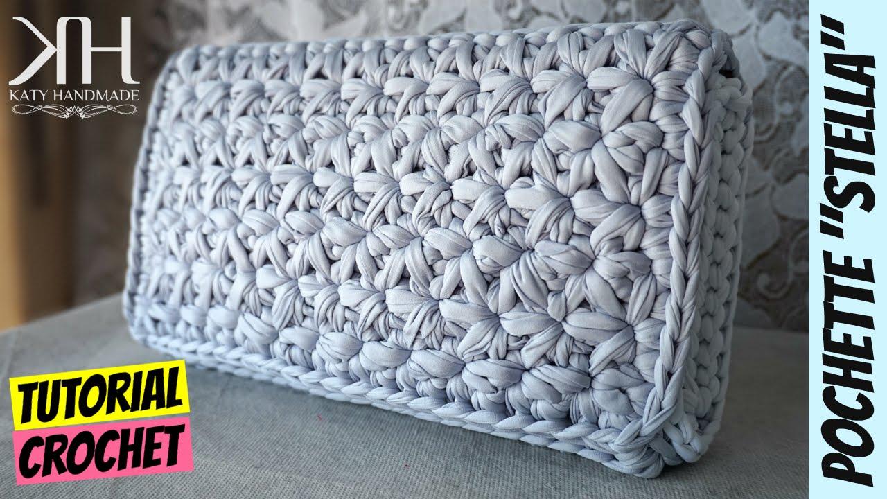 Tutorial Uncinetto Pochette Stella Punto Stella Crochet Star