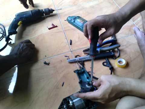 Cara bongkar bor listrik yang rusak youtube cara bongkar bor listrik yang rusak ccuart Gallery