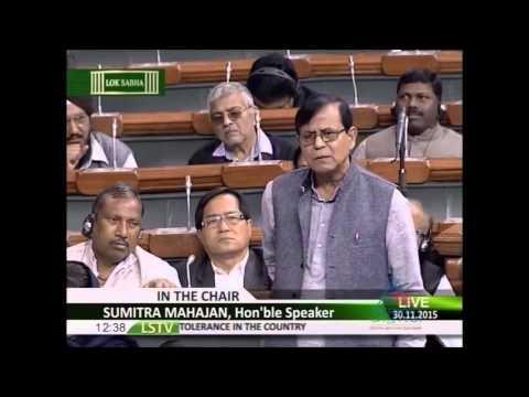 Mohd Salim takes on BJP on Rising Intolerance...