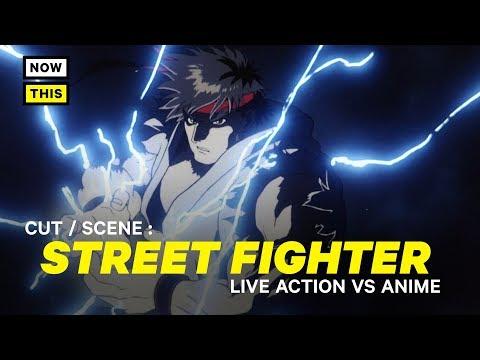 Street Fighter the Movie: Live Action vs. Anime | Cut/Scene #6 | NowThis Nerd