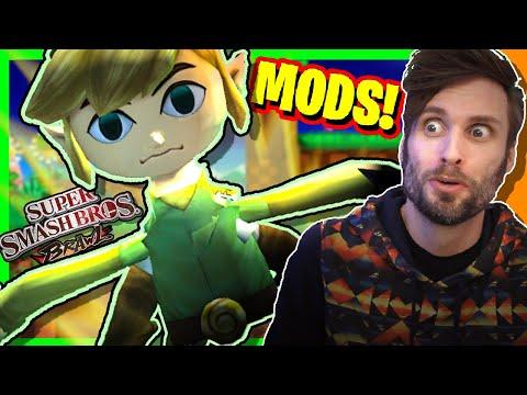 Super Smash Bros. Brawl MODS & GLITCHES! - SpaceHamster
