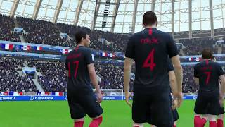 World Cup 2018 Finals Croatia vs France Full Match Sim (FIFA 18)