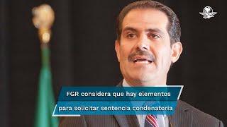 La Fiscalía General de la República emitió información en torno al estado del ex gobernador de Sonora, Guillermo Padrés