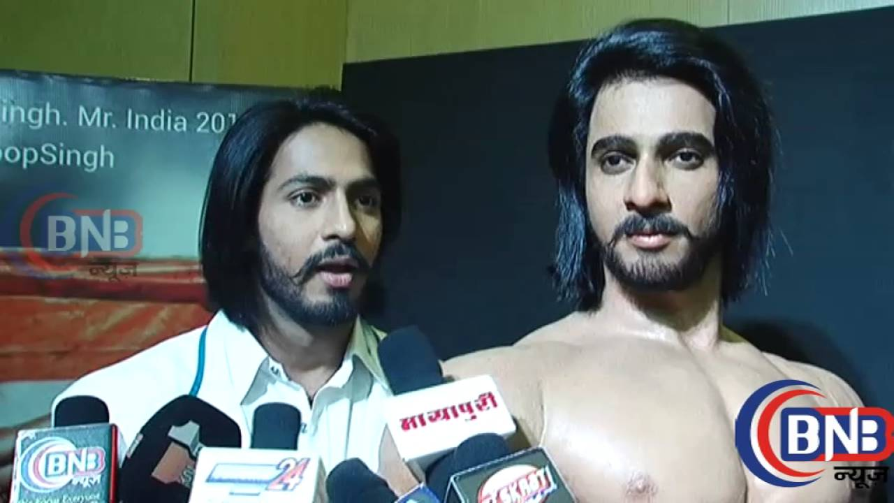 anoop singh thakur s unveiling of wax model launches by jackie