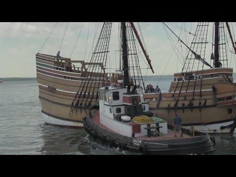 PCN Mayflower II Returns to Plymouth Port