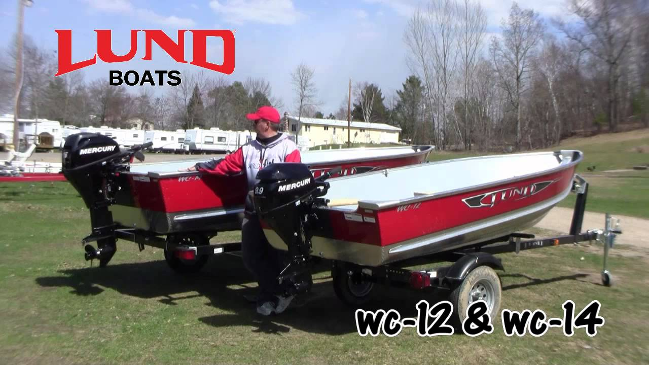 Lund Fishing Boats >> Lund Boats: WC-12 & WC-14 - YouTube