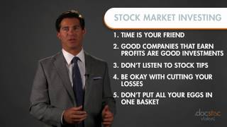 6 Rules For Successful Stock Market Investing