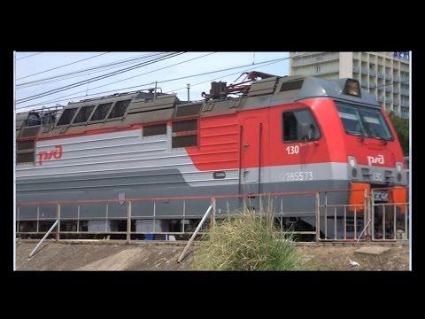 2ЭС4К 130 с поездом №14 Саратов/Волгоград-1 - Адлер