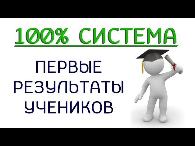 100% система - первые результаты учеников (Готовые решения)