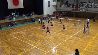 決勝トーナメント 決勝 優勝決定戦 西南女学院大学 対 福岡大学