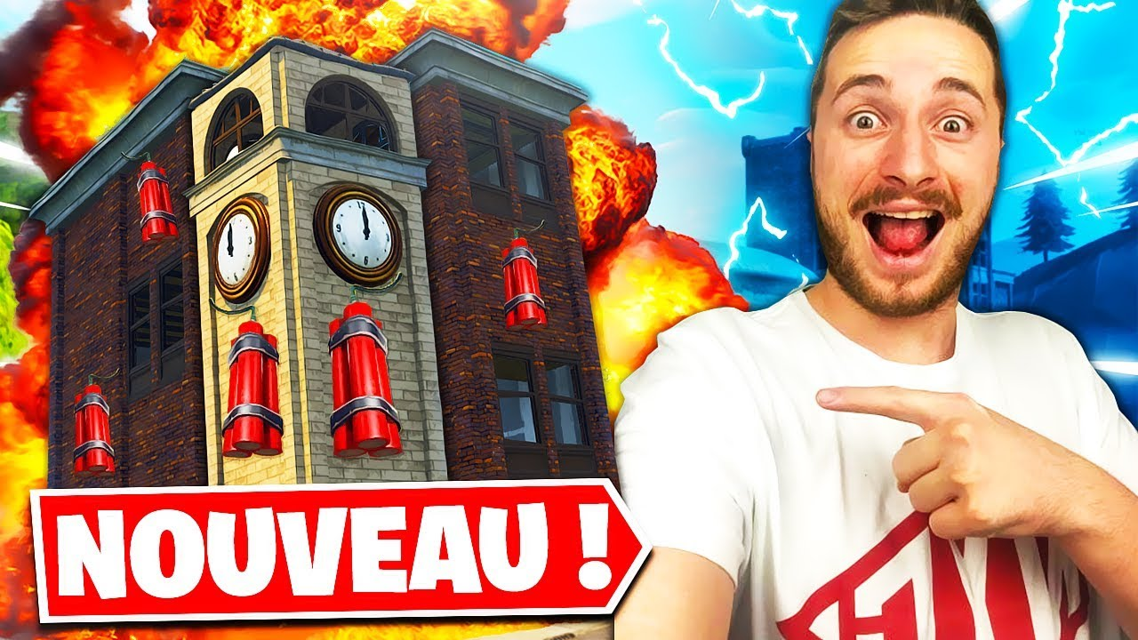 *NEW* ÉNORME FIGHT A LA DYNAMITE sur FORTNITE BATTLE ROYALE !