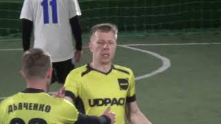 28 КХ 11 тур 7 лига 1 4 6 3 2 матч Салтовские атаманы Udpack 1 тайм