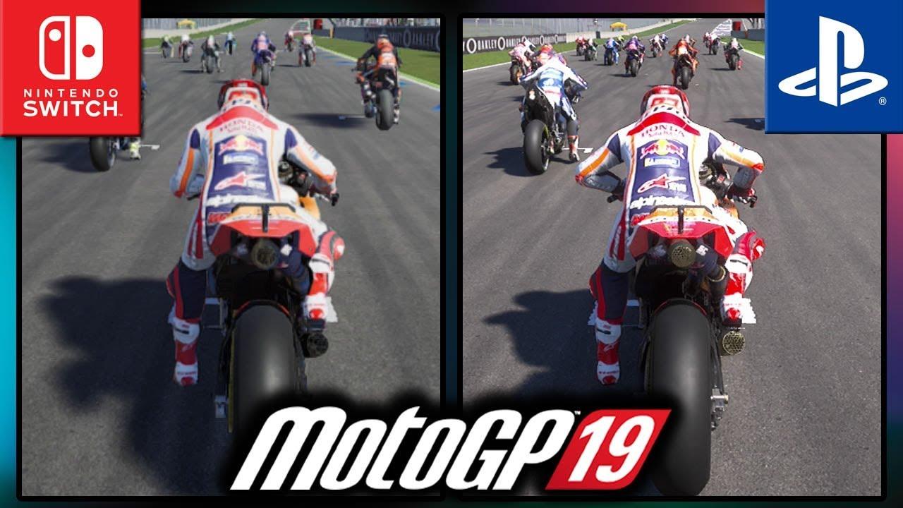 MotoGP 19 | Switch VS PS4 | Frame Rate TEST