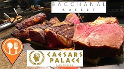 COMPLETE Las Vegas Bacchanal Buffet @ Ceasars Palace Hotel & Casino | Food Trips TV