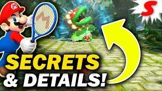 Mario Tennis Aces Trailer SECRETS & Hidden Details Discovered! {ANALYSIS}