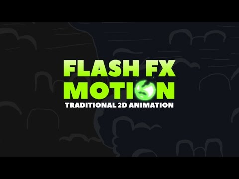 flash fx motion traditional 2d animated elements after effects template youtube