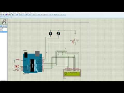 SMART CAR PARKING SIMULATION IN PROTEUS USING ARDUINO - YouTube