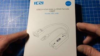 ICZI VGA to HDMI Adapter Review