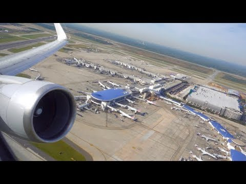 American Airlines Boeing 767-300 / Charlotte to Miami / 4K Video