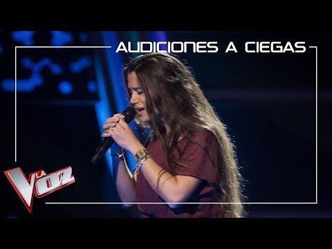 Lorena Fernández canta 'Historia de un amor' | Audiciones a ciegas | La Voz Antena 3 2019