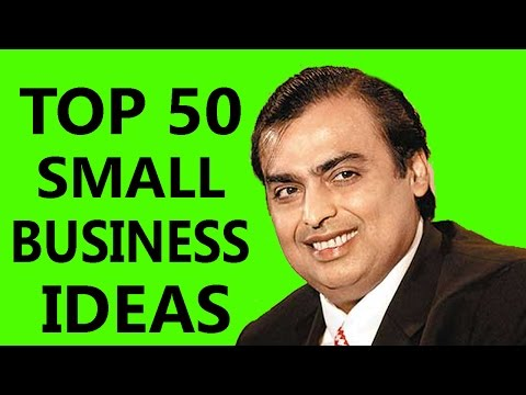 Thumbnail: Top 50 Easy Small Business Ideas In India
