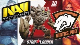 NaVi vs Virtus.pro Star Ladder Star Series Season 10 Dota 2 Lan RUS thumbnail