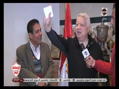 مرتضى منصور يفضح الحكم محمد الحنفي ويكشف أسرار خطيرة