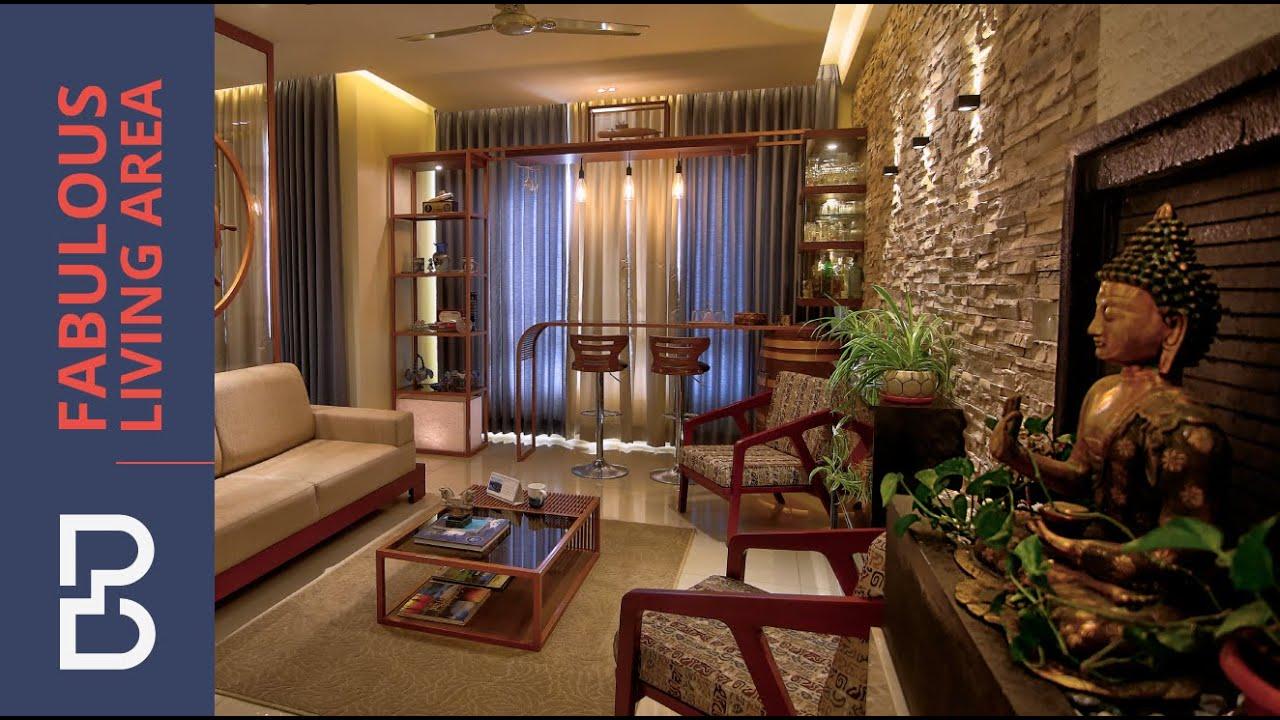 Fabulous Living Area Designs | Bonito Designs | Bangalore