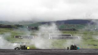 特科火力(2) Howitzers firing Demo JGSDF