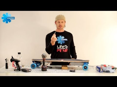 Build electric skateboard in under 24 minutes | Enertionboards.com