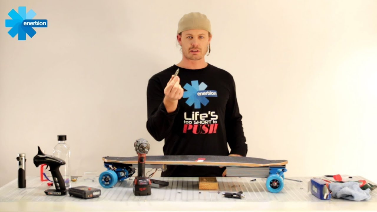 Build electric skateboard in under 24 minutes enertionboards build electric skateboard in under 24 minutes enertionboards youtube solutioingenieria Gallery