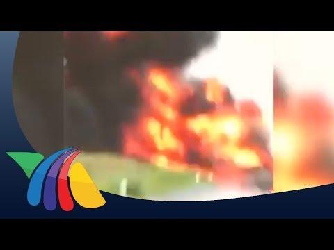 Videoaficionado capta explosión en Campeche | Noticias de Campeche