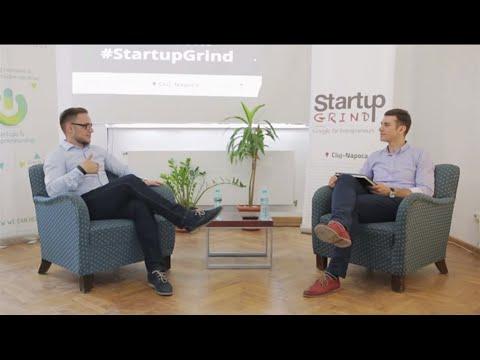 Sergiu Biris (Zonga / LiveRail / Trilulilu) at Startup Grind Cluj Napoca