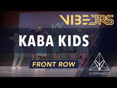 Kaba Kids   Vibe Jrs 2020 [@VIBRVNCY Front Row 4K]