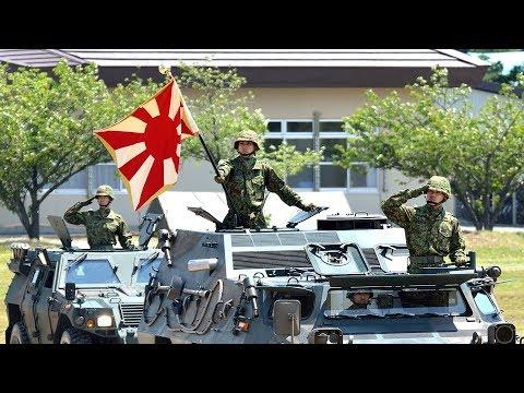 【陸上自衛隊】陸軍分列行進曲(扶桑歌・抜刀隊)で観閲行進|Japanese Army Parade March JGSDF