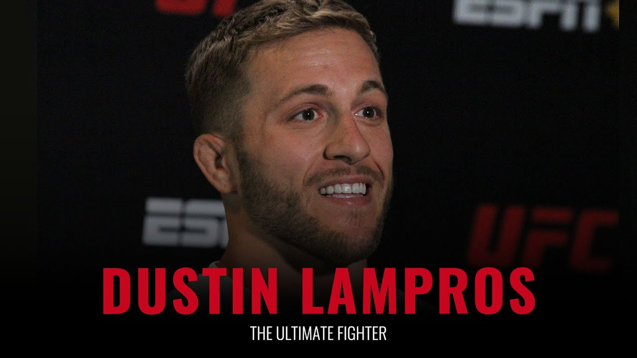 Download The Ultimate Fighter: Dustin Lampros pre-show interview