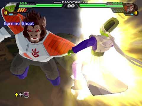 Dragon Ball Z Budokai Tenkaichi 3 (Pikkon VS Great Ape King Vegeta)