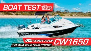 Boat Test: Whittley CW1650 with Yamaha F70 4 stroke